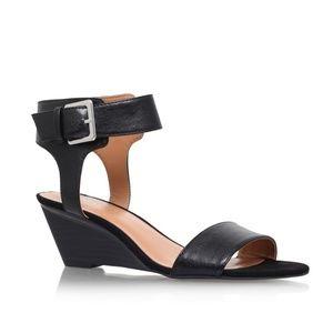 NWOT Nine West Pepperman black ankle strap heel